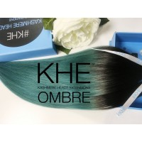 Kashmere Heads - Teal Princess Ombre