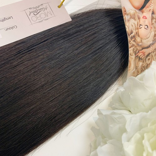 "Micro Handtied Weft 18"" #1B -OUT OF STOCK"