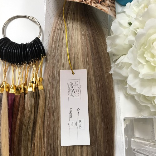 """Micro Handtied Weft 18"""" #7/22 - OUT OF STOCK"""